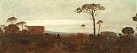 paysage de méditerranée by charles auguste sellier