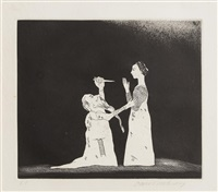 the princess by david hockney