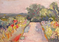 uphill driveway, kenwood house by henry james albright