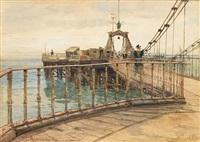 brighton chain pier by james aumonier
