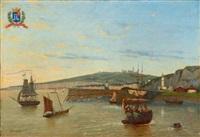 le port de saint valéry-en-caux by frédéric legrip