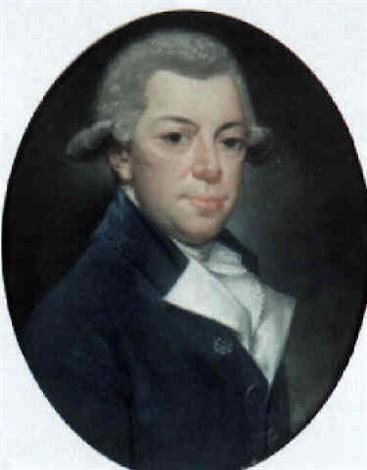 portrait of a man count de rochefort wearing a velvet coat by jaques gabriel huquier