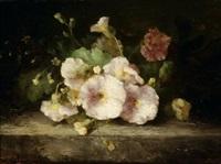 still life of flowers by margaretha roosenboom