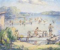 sunday at cedar lake by francesco j. spicuzza