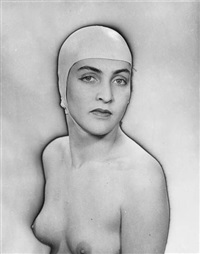 meret oppenheim by man ray and pierre gassman