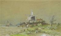moulins à wilhemdorp by auguste paul charles anastasi