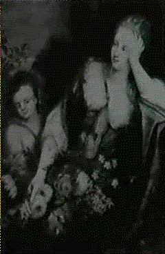 femme aux fleurs by jacobus melchior van herck