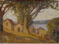 workmen's cottages, tiburon by selden connor gile