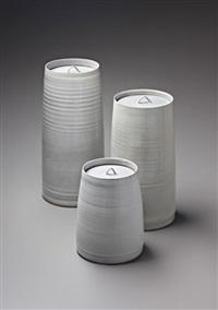 three lidded jars by rupert spira