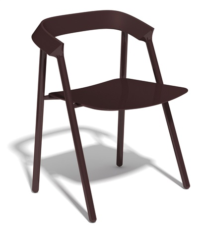 red carbon chair (prototype) by michael young
