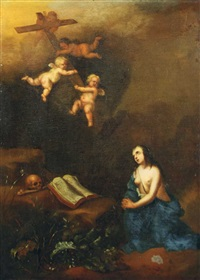 die büssende maria magdalena by françois verwilt