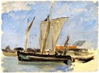 bateau by paul huet