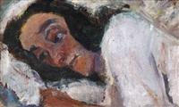 femme couchée by chaïm soutine