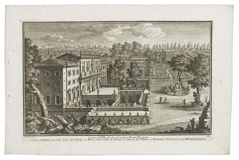 views of rome (17 works) by giuseppe vasi