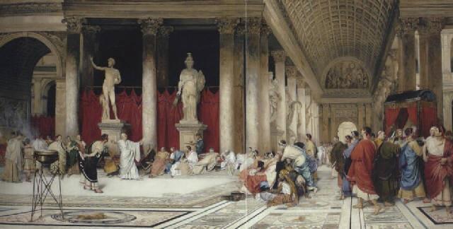 The Baths Of Caracalla By Virgilio Mattoni De La Fuente
