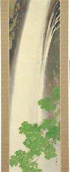 waterfall by gyokudo kawai