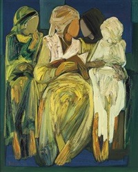 les quatre femmes (the four women) by paul guiragossian