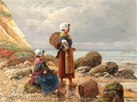 fisherwomen by emile godchaux