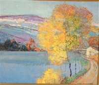 le petit lac by victor charreton