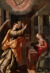the annunciation by frans francken the elder