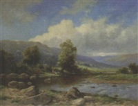 near llanbedr, north wales by john bates noel