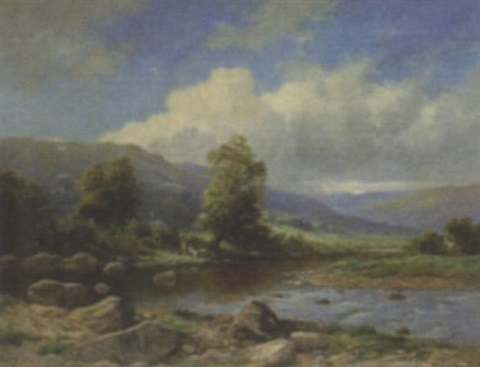 near llanbedr north wales by john bates noel