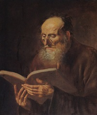 st. paul reading by dirck van hoogstraten