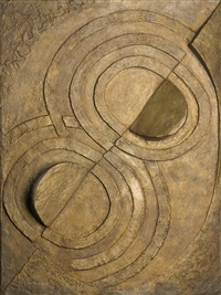 relief bronze by robert delaunay