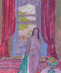 girl at the window by edward bishop