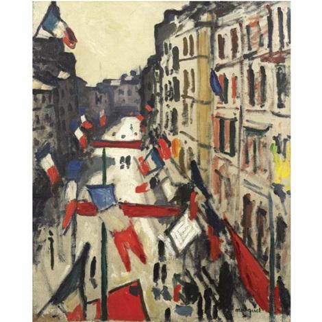 Le 14 Juillet Au Havre By Albert Marquet On Artnet