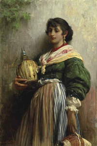 rosa siega by sir samuel luke fildes