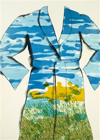 self-portrait: the landscape by jim dine
