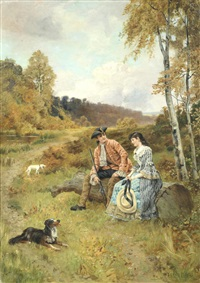 a country courtship by henry john yeend king