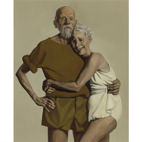 old couple by john currin