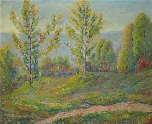 la campagne au printemps by george gardner symons