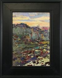 landscape by konstantin petrovich mikhailov