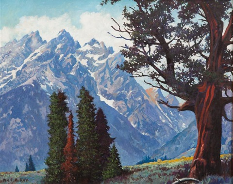 sierra mountains by william h kay