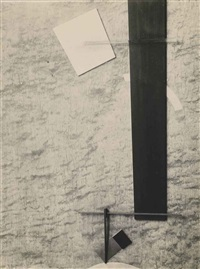 proun in material (proun 83) by el lissitzky