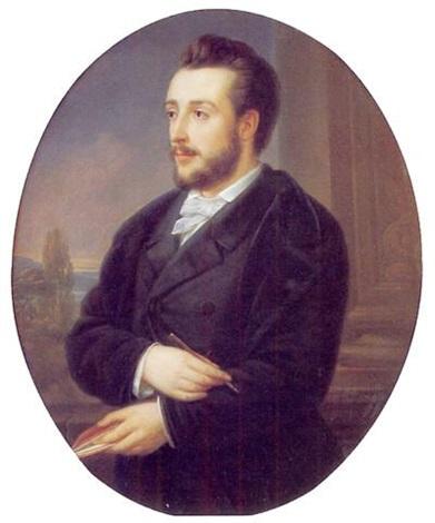 portrait dun écrivain by charles picque