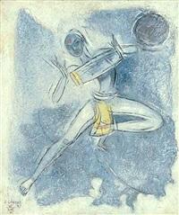 ecstasy of rhythm vii ( folk drummer) by shiavax chavda