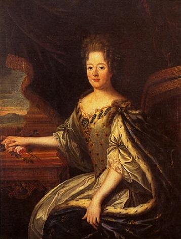 Portrait de la reine Marie Thérèse dAutriche by French School (18 ...