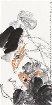 花鸟 by jiang wenzhan