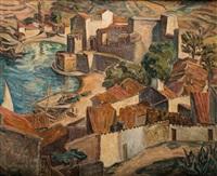 port w collioure by maria-mela muter