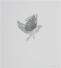various flying creatures (suite of 6) by kiki smith