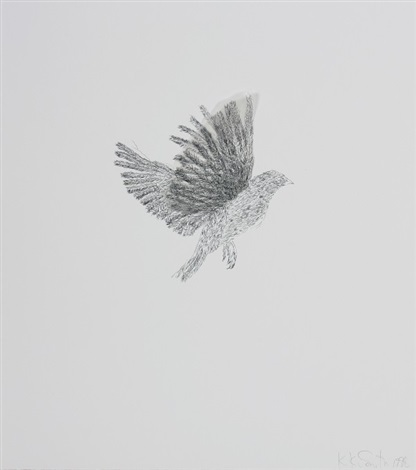 various flying creatures suite of 6 by kiki smith