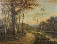 a winding road by george fields