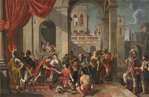 the continence of scipio by johann heiss