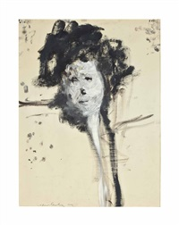untitled (woman) by alfred leslie