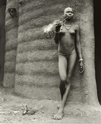 unidentified woman, benin by hector acebes