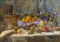 stillleben mit äpfeln by tina blau-lang